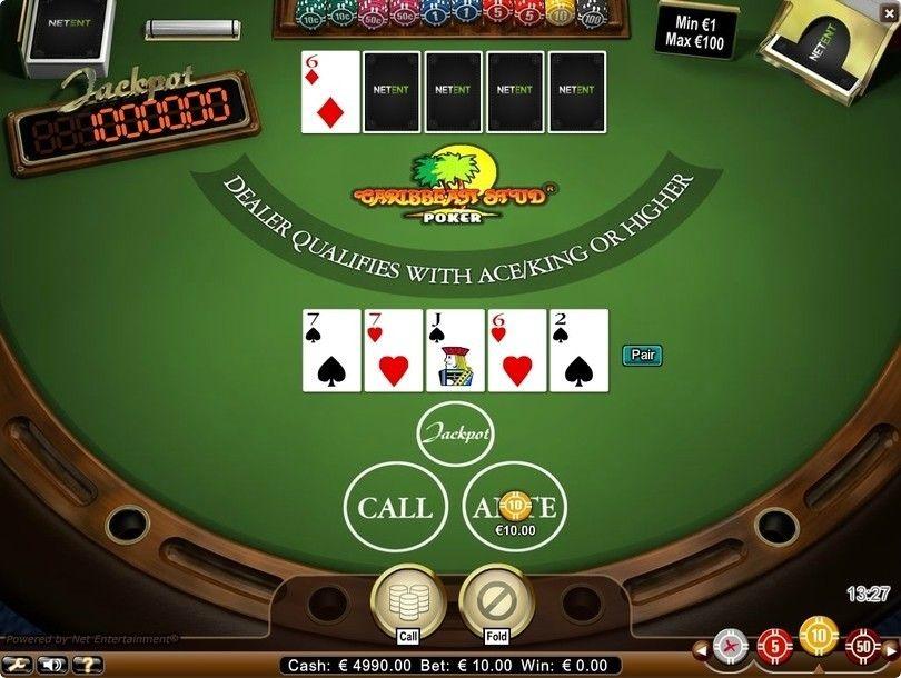 caribbean-stud-poker-netent