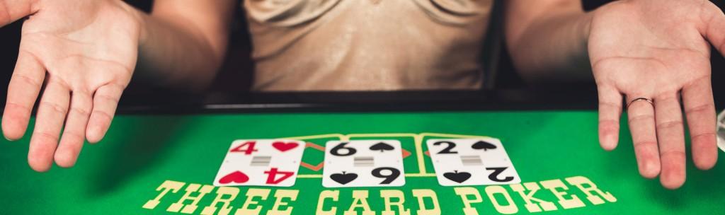 Live Three Card Poker spelen online casino