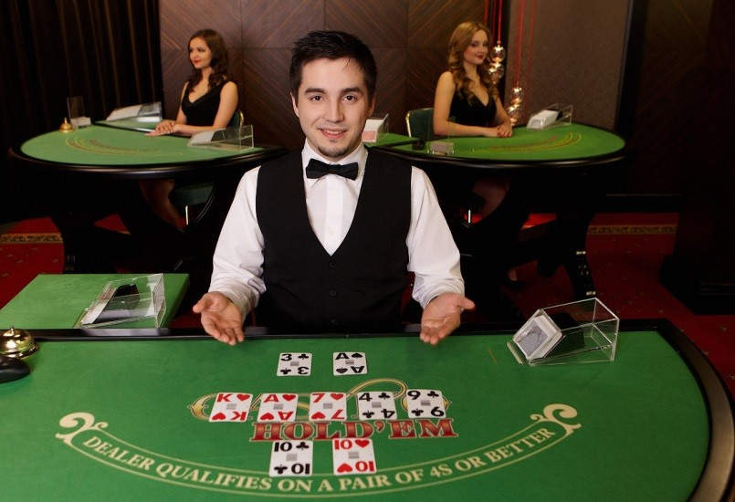 Live poker online casino