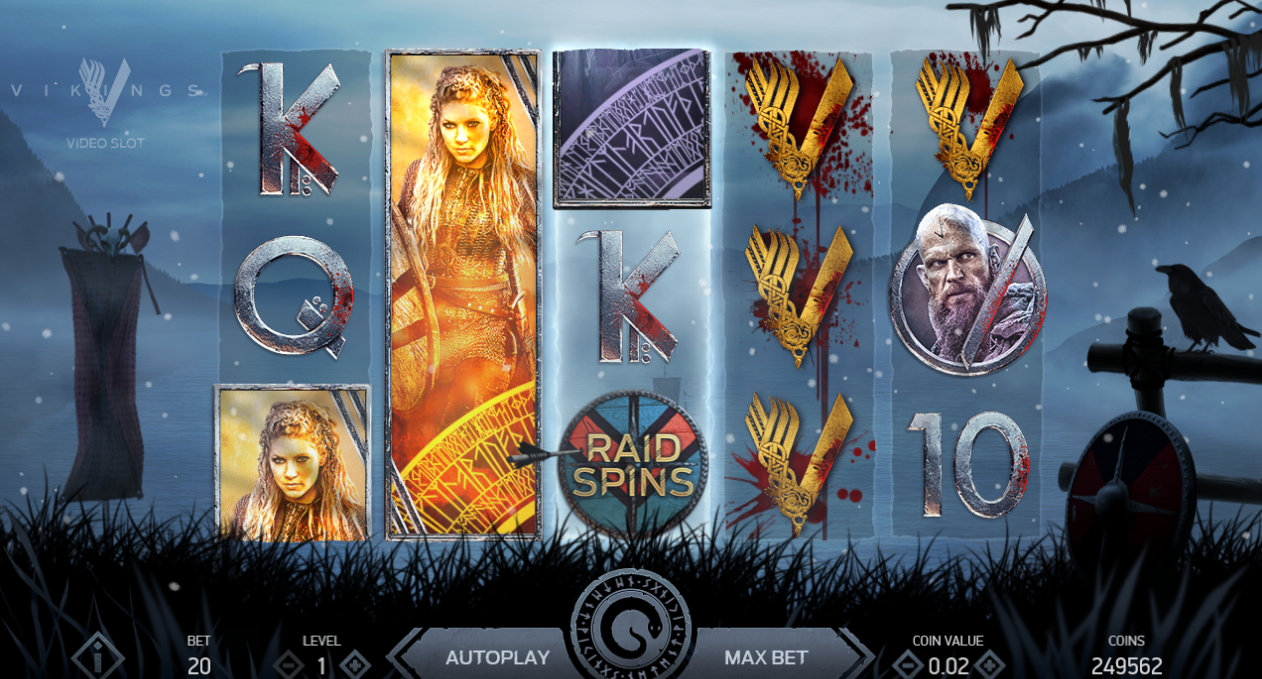 Eskimo casino Vikings slot