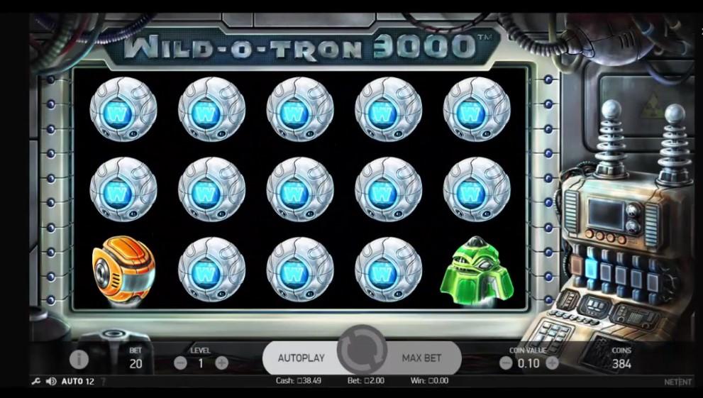 Big W Wild o Tron 3000 NetEnt