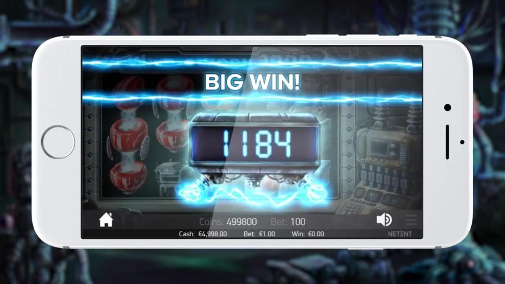 Wild o Tron 3000 mobiel NetEnt