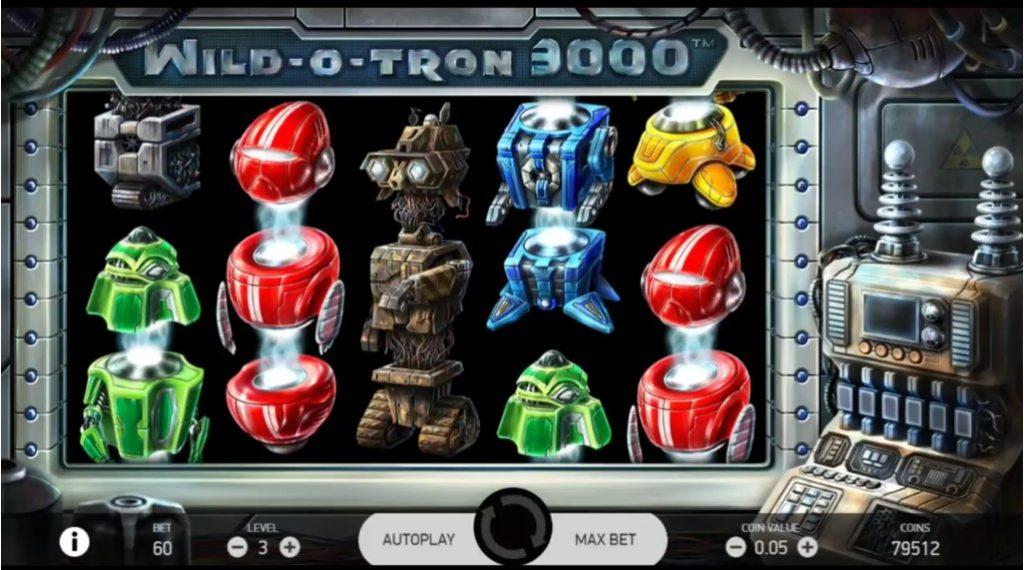 Wild o Tron 3000 slot NetEnt