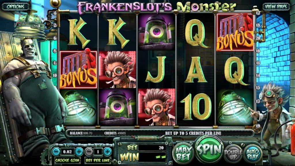 Frankenslot's Monster slot Omnislots