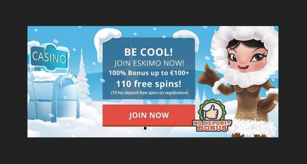 no deposit bonus Eskimo casino