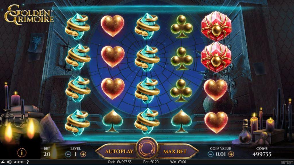 Golden Grimoire Eskimo Casino