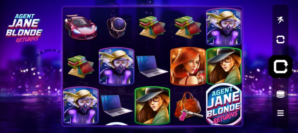 Agent Jane Blonde Returns Lapalingo Casino
