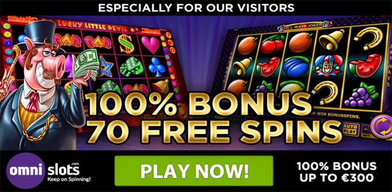 Welkomstbonus Omnislots Casino