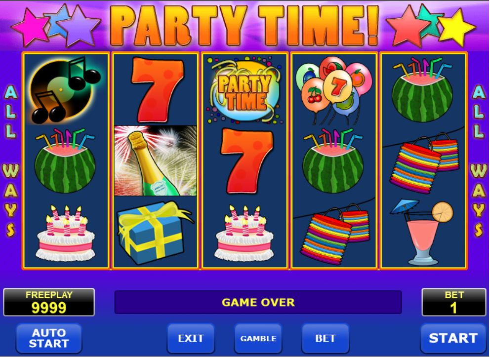 Party Time Turbo Casino